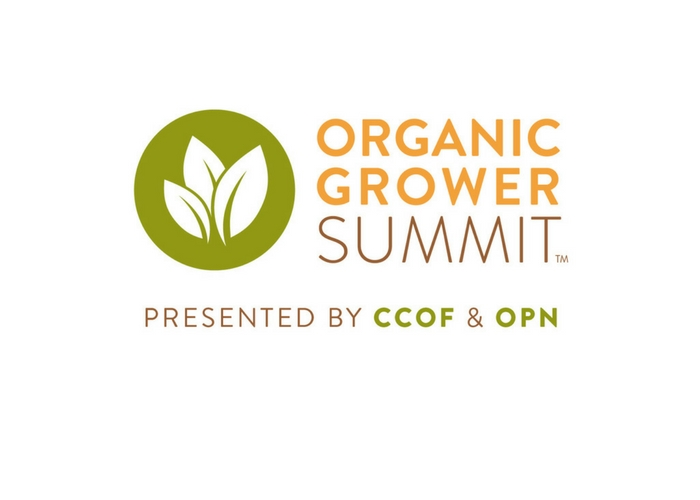 Attendee Registration Now Open for Inaugural Organic Grower Summit