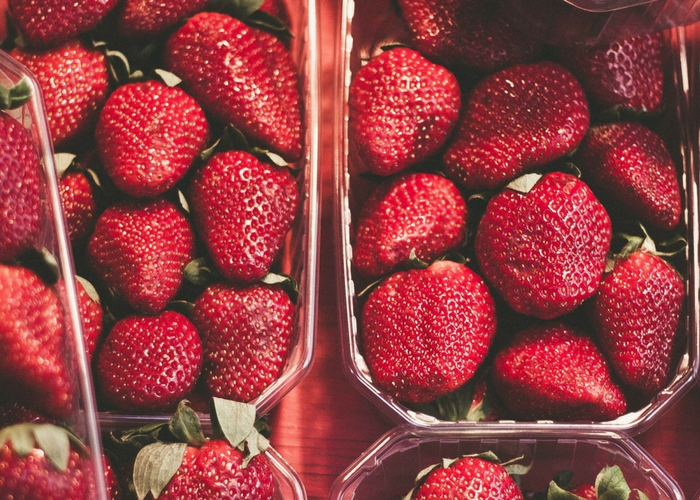 Organic Strawberries in Short Supply