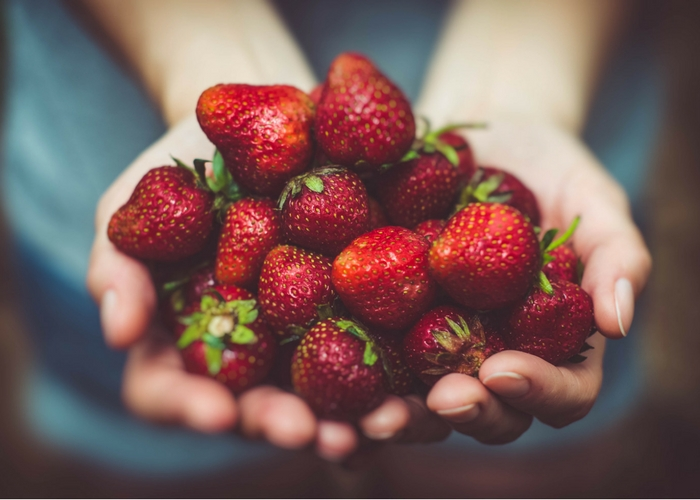 Spring Ahead, Nutritionally with Organic Strawberries