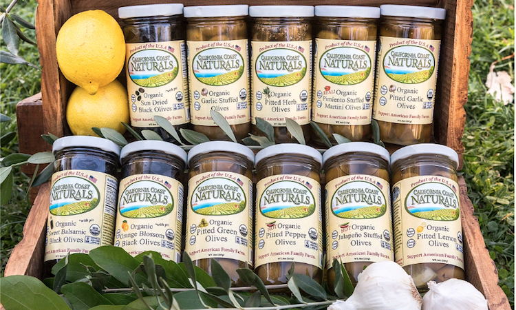 California Coast Naturals - American Leader in Organic Olives