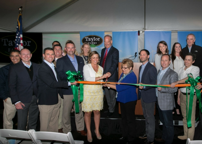 Taylor Farms Develops Firstof its Kind, Sustainable Energy System