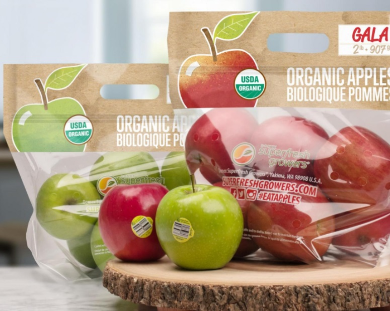 Organic Apple Promotions in Play for Several Months
