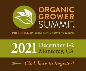 Organic Grower Summit October 2021